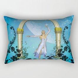 Wonderful dancing fairy Rectangular Pillow
