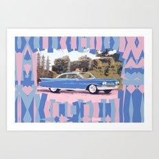 Cadillac Coupe De Ville, 1960 Art Print