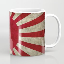 Imperial Japanese Army Ensign Flag - Vintage retro version Coffee Mug