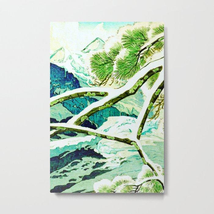 The Winter Green Metal Print