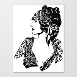 Florence - Roaring20s Canvas Print
