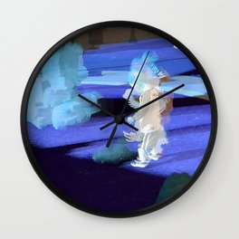 Little Robot Man Wall Clock