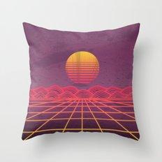 Neon Dream's  Throw Pillow