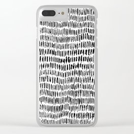 Mark Clear iPhone Case