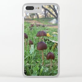 Found Fungus Clear iPhone Case