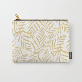 Leaves Golden #society6 #buyart Carry-All Pouch
