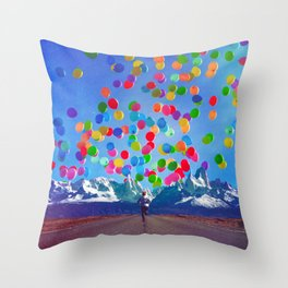 The Here And The Now Throw Pillow