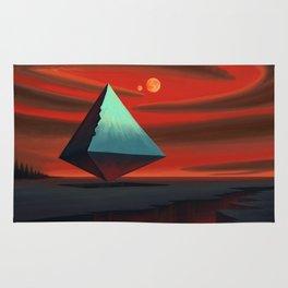 Moon Pyramid Rug