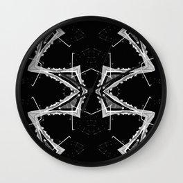 Mtn X-Ray Quad 2 Wall Clock