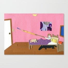 Alligators Under the Bed Canvas Print