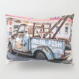 Fresh Fish Truck Pillow Sham