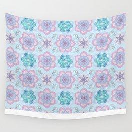 MANDARA flower Wall Tapestry