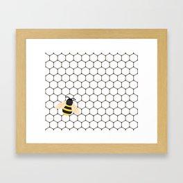 Bee <3 Framed Art Print