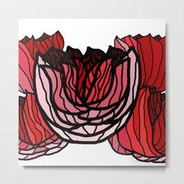 Rose Riots Metal Print