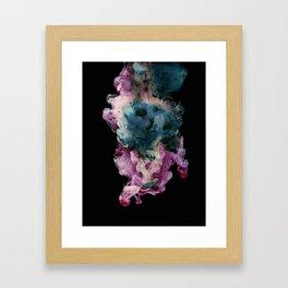 Colored Smoke Three Framed Art Print