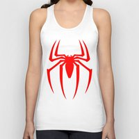 spider man Tank Tops featuring Spider Man by Sport_Designs