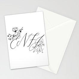 ENFJ Myers–Briggs Type Indicator Stationery Cards
