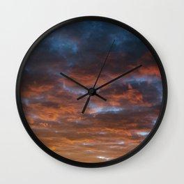 Mt. Baldy Sunset Wall Clock
