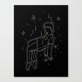 float into oblivion Canvas Print