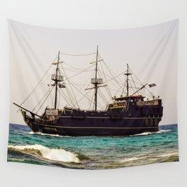 Ship Wall Tapestry