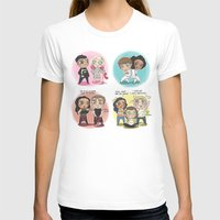 cyrilliart T-shirts featuring Adventures of 1D & LM by Cyrilliart