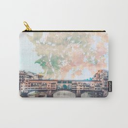 Florence in Bloom Carry-All Pouch