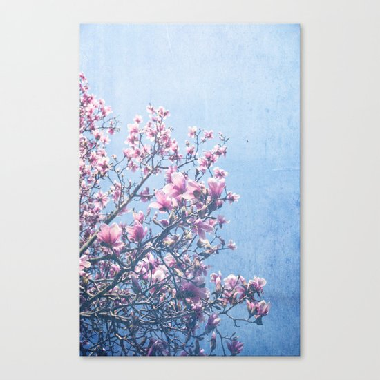 She Bloomed Everywhere She Went Canvas Print