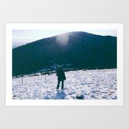 Winters View Art Print
