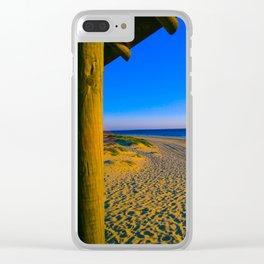 Rota Spain Beach 5 Clear iPhone Case