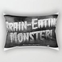 """""""Brain-Eating Monsters"""" Rectangular Pillow"""
