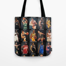 Basketball Legends Tote Bag