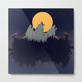 Midnight Sound Metal Print