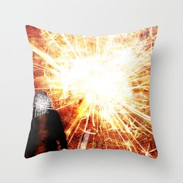 Disconnection Throw Pillow