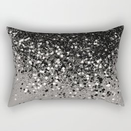 Silver Gray Glitter #1 #shiny #decor #art #society6 Rectangular Pillow