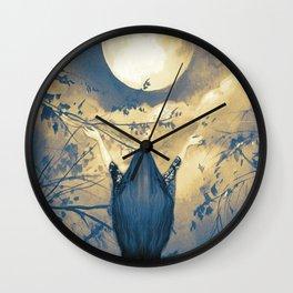 Mother Moon Wall Clock