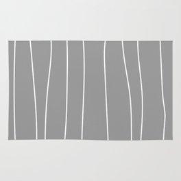 WOOD grey Rug