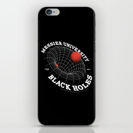 The Sucking Black Holes iPhone Skin
