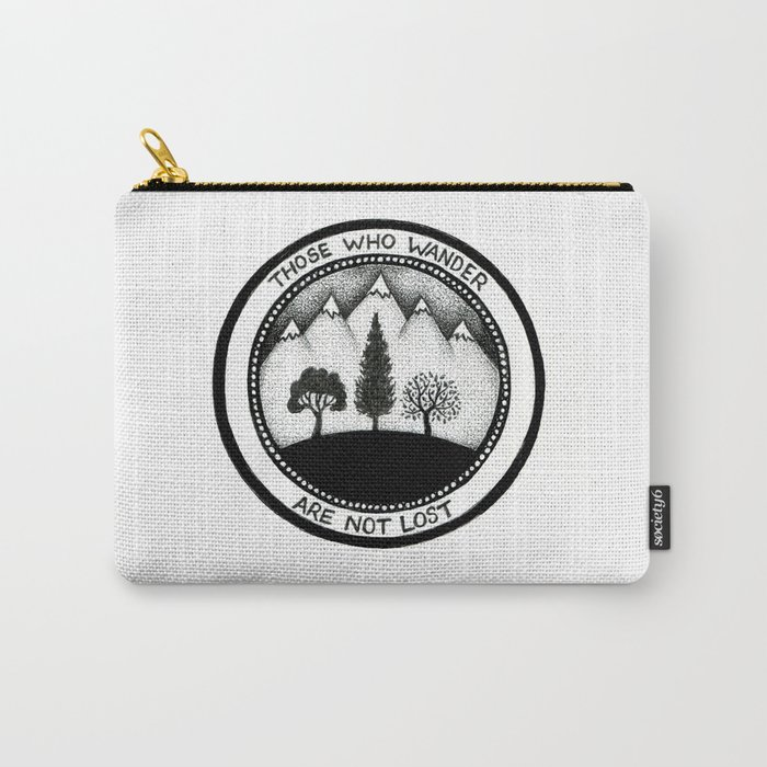 Wanderling Woods Carry-All Pouch