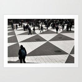 Pattern Cognition Art Print