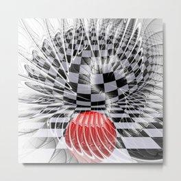 fractalized Metal Print