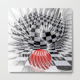 fractalized Metal Print