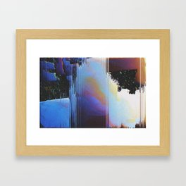5P3CT4CL3 Framed Art Print