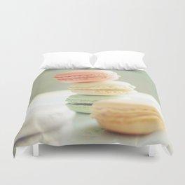 Pretty Macarons Duvet Cover