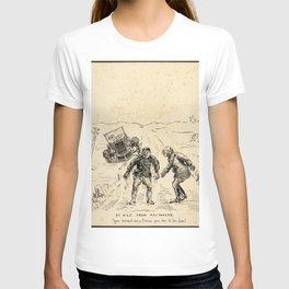 Vintage First World War Art - JM's Sketchbook - 50 Kilo From Anywhere T-shirt