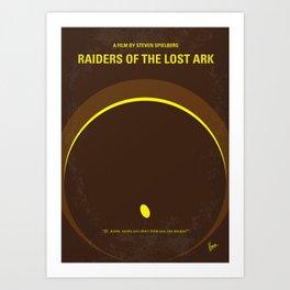 No068 My Raiders of the Lost Ark MMP Art Print