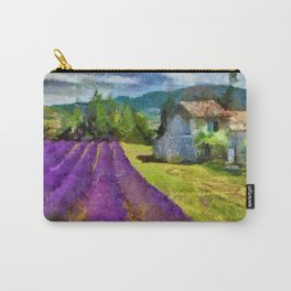 Lavender in Provence Carry-All Pouch