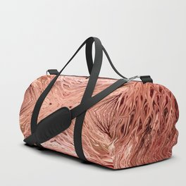 Pomegranate Firegrass Quad 3 by Chris Sparks Duffle Bag