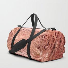 Pomegranate Firegrass Quad 3 by Chris Sparks Duffle Bag
