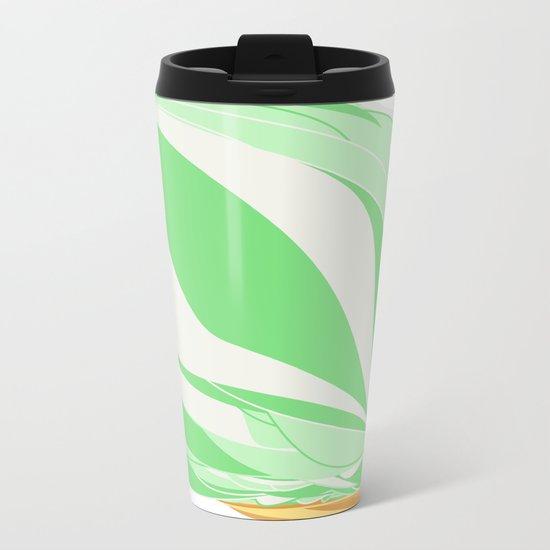 Mint Icecream Metal Travel Mug