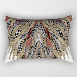 Tribal Eagle Totem Rectangular Pillow